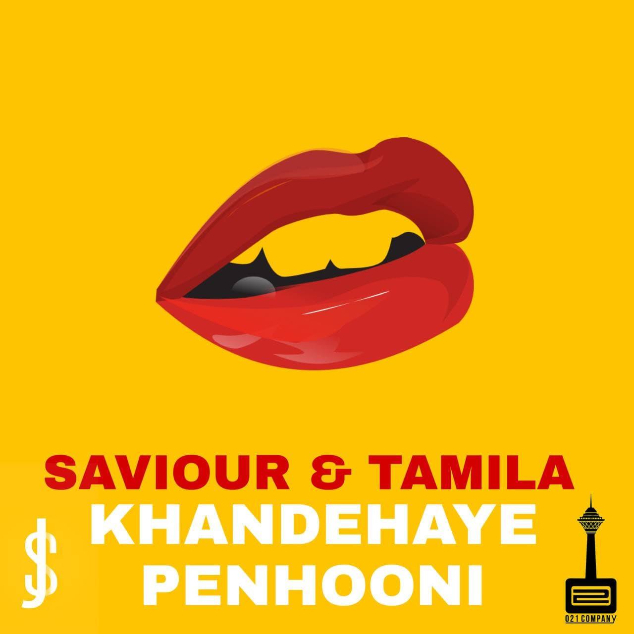Saman Saviour & Tamila - Khandehaye Penhooni